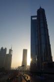 Shanghai lujiazui at sunrise Royalty Free Stock Photos