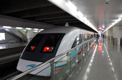 Shanghai Maglev Train Stock Images