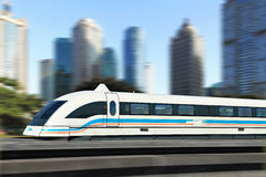 Shanghai Maglev Train Stock Photos