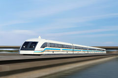 Shanghai Maglev Train Royalty Free Stock Photography
