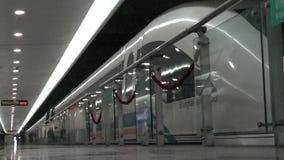 Shanghai Maglev Train - Shanghai Transrapid stock video footage