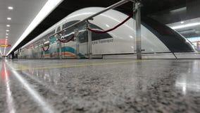 Shanghai Maglev Train - Shanghai Transrapid stock footage