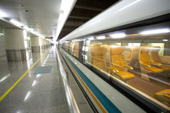 Shanghai Maglev Train Station Stock Photography