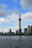 Shanghai-Markstein Stockbild
