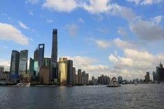 Shanghai-Markstein Stockfotos