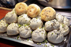 Shanghai - Mehlkloß, heißes Essen Lizenzfreies Stockbild