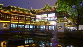 Shanghai - mercado do turista de Yuyuan vídeos de arquivo