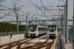 Shanghai Metro Stock Image