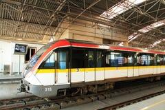 Shanghai metro Line 3 Royalty Free Stock Image