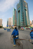 Shanghai migrant workers Stock Photos