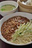 Shanghai minced noodle Stock Photos