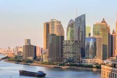 Shanghai modern building skyline Stock Photography