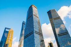 Shanghai modern buildings and city view. In China Royalty Free Stock Images