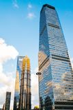 Shanghai modern buildings and city view. In China royalty free stock photography