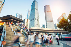 Shanghai  modern city landscape Royalty Free Stock Images