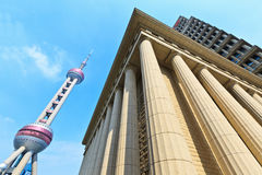 Shanghai modern commercial architecture landscape, in China Stock Photography