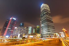 Shanghai modern stad Royaltyfri Bild