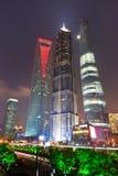 Shanghai modern stad Arkivbild