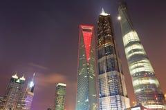 Shanghai modern stad Fotografering för Bildbyråer