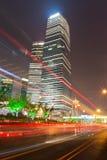 Shanghai modern stad Arkivbilder
