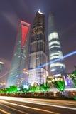 Shanghai modern stad Royaltyfria Bilder