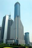 Shanghai - moderne Wolkenkratzer Stockfotos