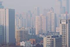 Shanghai-Morgen Lizenzfreie Stockfotos