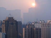 Shanghai-Morgen Stockbilder