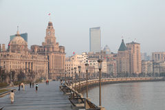 Shanghai in the morning Stock Photography