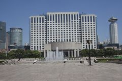 Shanghai Municipal Government Building Royalty Free Stock Photos