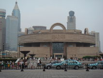 ShangHai Museum stock photo