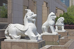 Shanghai museum stock photography