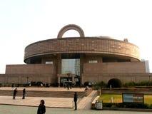 Shanghai museum arkivbild