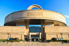 Shanghai museum, Shanghai China Royalty Free Stock Photo