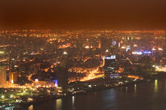 Shanghai-Nacht 1 stockfoto