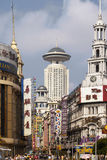 Shanghai - Nanjing Road - China royalty free stock photography