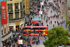 Shanghai - Nanjing Road Royalty Free Stock Photography