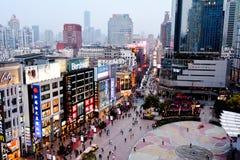 Shanghai - Nanjing Road Royalty Free Stock Photos