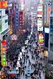 Shanghai - Nanjing Road Royalty Free Stock Image