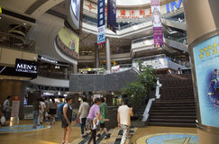 Shanghai nice shopping mall Royalty Free Stock Images