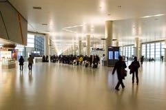 Shanghai - nieuwe luchthaven voor Expo 2010 Stock Fotografie