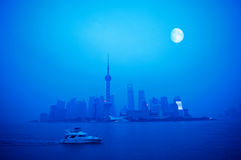 Shanghai Night Royalty Free Stock Images
