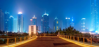 Shanghai night Royalty Free Stock Photos