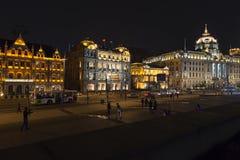 Shanghai - Bund at night Royalty Free Stock Image