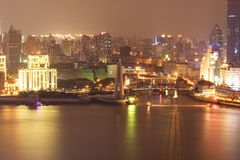 Shanghai night 8 stock photography