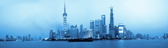 Shanghai Night - Bund Stock Photo