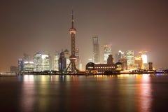 Shanghai at night, China Royalty Free Stock Image