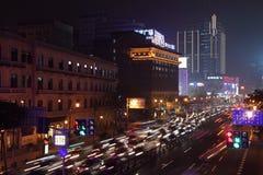 Shanghai at night, China Stock Images