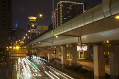 Shanghai night Stock Photography