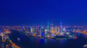 Shanghai night Royalty Free Stock Photo